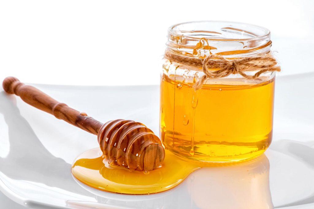 Miel en un