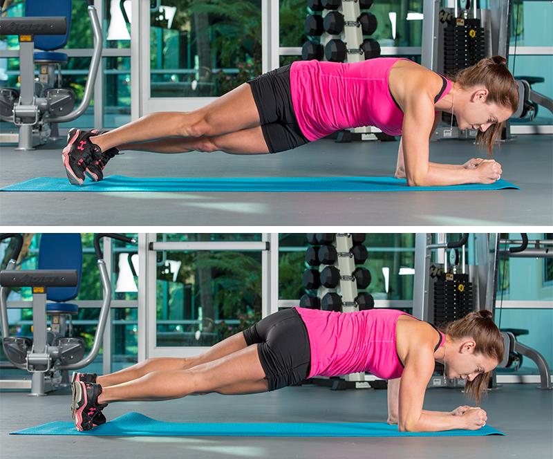 La plancha lateral te hará poner tu cuerpo a tope.