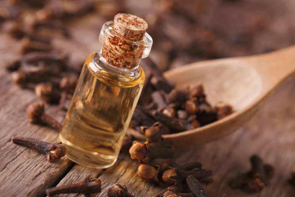 Aceite de oliva y aceite de clavo para aliviar el dolor en el talón