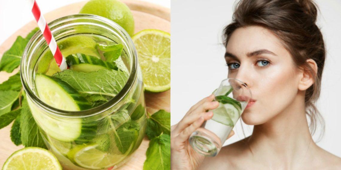 Mantente hidratado comiendo pepino.