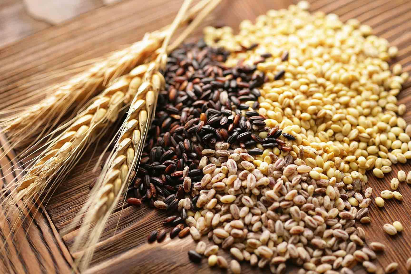 Cereales integrales para dietas para perder peso