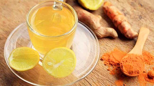 té de limón jengibre y cúrcuma para disminuir azúcar en sangre