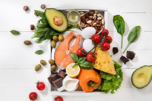 alimentos salidables que integran la dieta hipocalórica