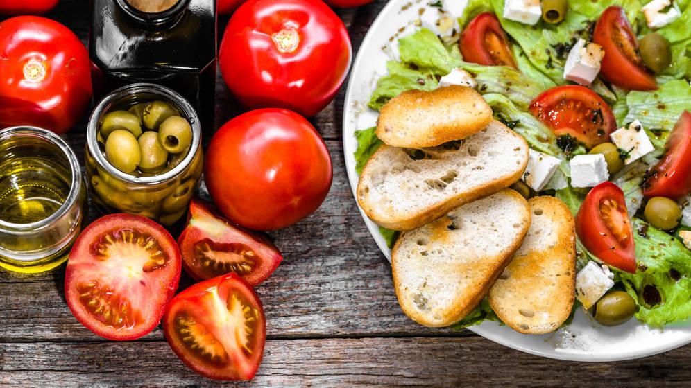 alimentos para dieta mediterranea