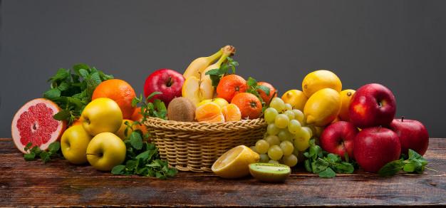tercer día frutas y vegetales