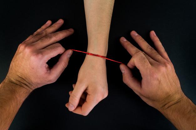 pulseras de hilo de la suerte