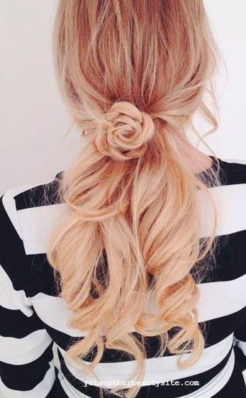 Peinados con formas de flrt