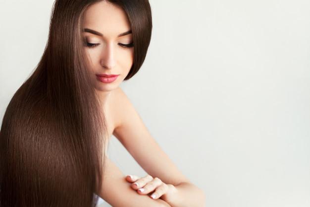 el cabello cuidado crece mas rápido y se ve mucho mas hermoso