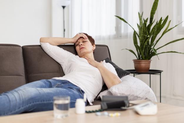 el cansancio aumenta a medida que se agrava la enfermedad
