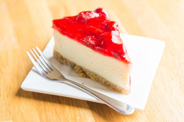 la tarta de queso sin horno es un rico postre super nutritivo.