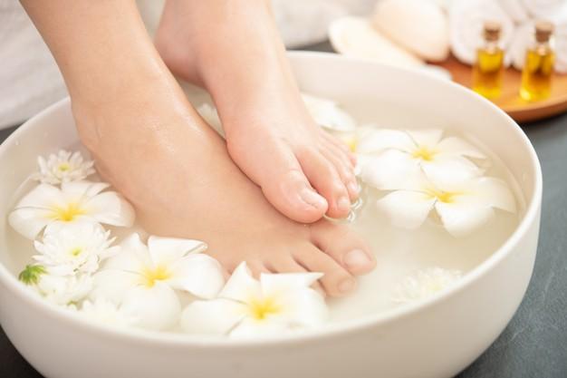 remedio casero con vinagre para los pies